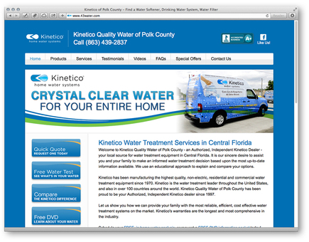 Kinetico of Polk County Website